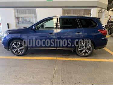 Foto venta Auto usado Nissan Pathfinder Exclusive (2018) color Azul precio $565,000