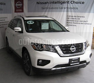 Nissan Pathfinder Exclusive usado (2018) color Blanco precio $600,000