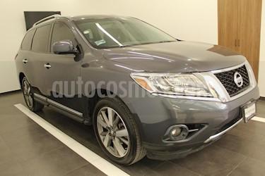 Foto venta Auto usado Nissan Pathfinder Exclusive (2013) color Azul precio $274,000