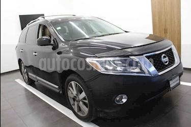 Nissan Pathfinder Exclusive usado (2013) color Negro precio $253,000