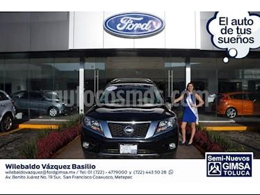Foto venta Auto Seminuevo Nissan Pathfinder Exclusive (2014) color Negro precio $299,000