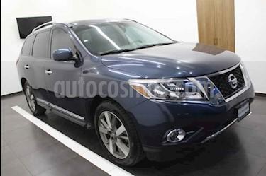 Nissan Pathfinder Exclusive usado (2015) color Azul precio $299,000
