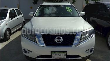 Foto venta Auto usado Nissan Pathfinder LE 3.5L 4x4 Aut Piel  (2013) color Blanco precio $265,000