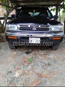 Foto venta Auto usado Nissan Pathfinder Luxury V6,3.3i,24v A 2 2 (1998) color Negro precio u$s7.500