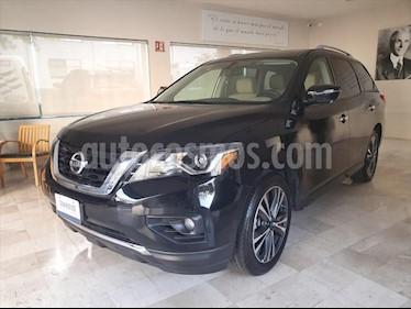 Nissan Pathfinder Exclusive 4x4 usado (2018) color Negro precio $469,000