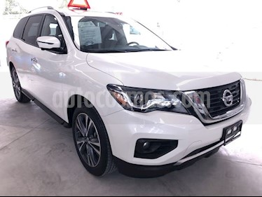 Nissan Pathfinder Exclusive usado (2018) color Blanco precio $539,000