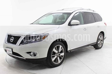 Nissan Pathfinder 5p Exclusive V6/3.5 Aut AWD usado (2016) color Blanco precio $353,000