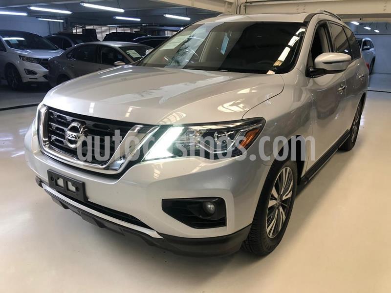 Nissan Pathfinder Advance usado (2017) color Plata Dorado precio $394,100