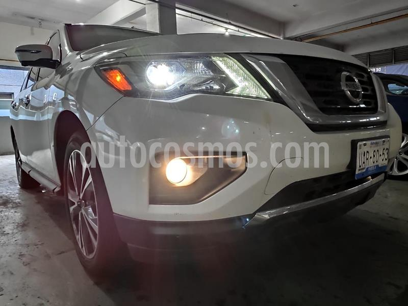 Nissan Pathfinder Exclusive 4x4 usado (2017) color Blanco precio $450,000