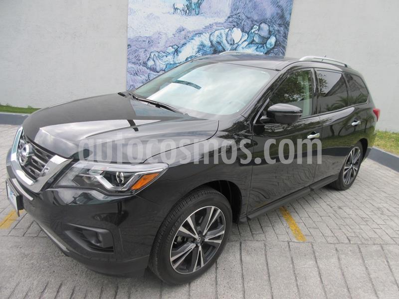 Nissan Pathfinder Exclusive 4x4 usado (2018) color Negro precio $559,000
