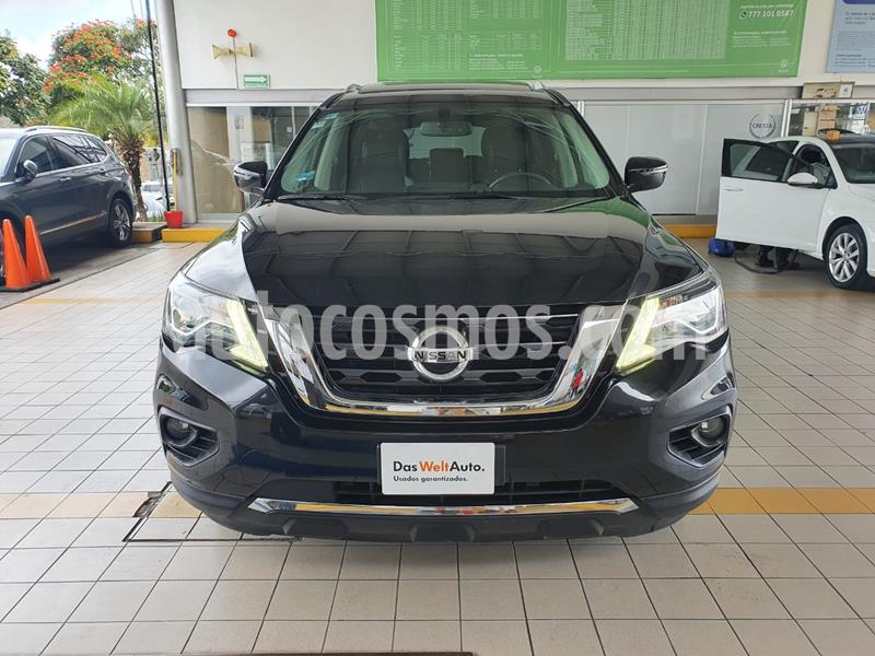 Nissan Pathfinder Advance usado (2018) color Negro precio $434,900