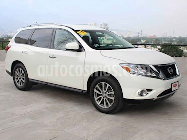 Nissan Pathfinder Sense usado (2015) color Blanco precio $264,900