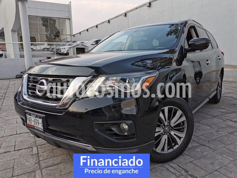 Nissan Pathfinder Advance usado (2018) color Negro precio $107,500