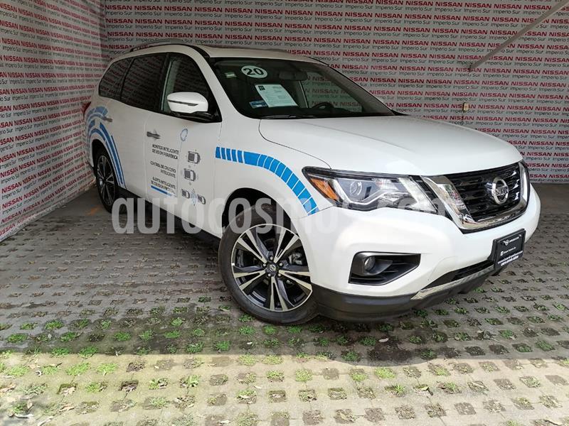 Nissan Pathfinder Exclusive 4x4 usado (2020) color Blanco precio $720,000