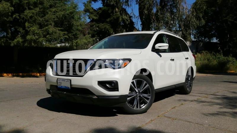 Nissan Pathfinder Exclusive 4x4 usado (2017) color Blanco precio $424,000