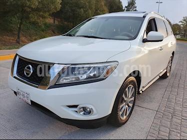 Nissan Pathfinder 5P ADVANCE AUT V6 usado (2013) color Blanco precio $230,000