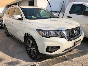 Nissan Pathfinder Exclusive 4x4 usado (2019) color Blanco precio $405,000