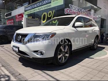 Nissan Pathfinder 5p Exclusive V6/3.5 Aut AWD usado (2016) color Blanco precio $375,000