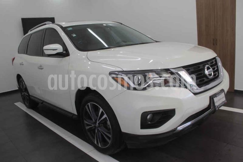 Nissan Pathfinder Exclusive 4x4 usado (2017) color Blanco precio $455,000
