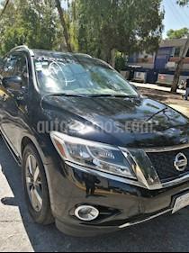 Nissan Pathfinder Exclusive 4x4 usado (2014) color Negro precio $235,000