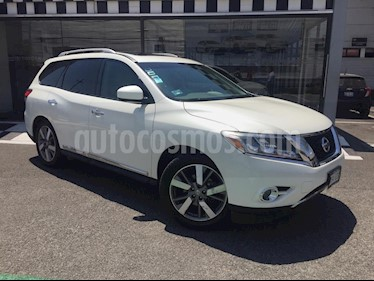 Nissan Pathfinder Exclusive 4x4 usado (2015) color Blanco precio $249,000