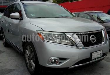 Nissan Pathfinder Exclusive usado (2014) color Gris precio $270,000