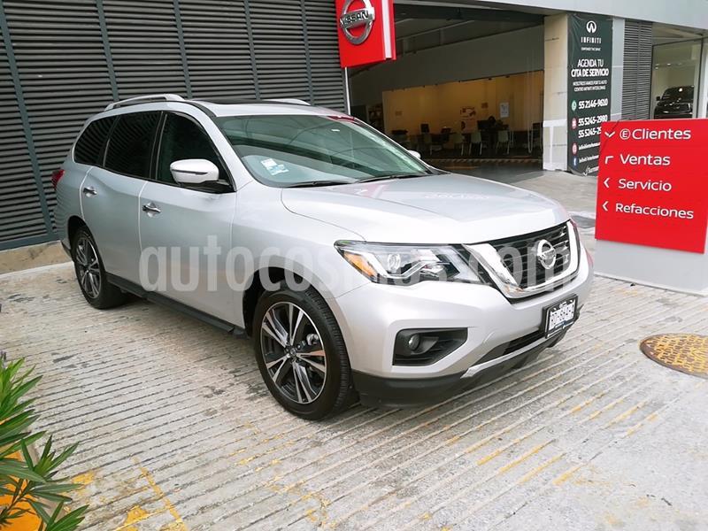 Nissan Pathfinder Exclusive usado (2020) color Plata precio $700,000