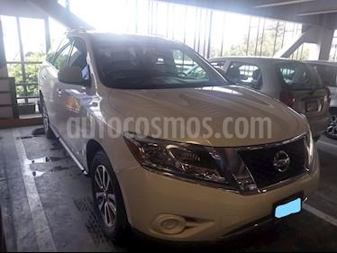 Nissan Pathfinder Sense usado (2014) color Blanco precio $285,000
