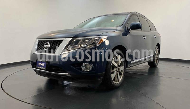 Nissan Pathfinder Exclusive usado (2015) color Azul precio $307,999