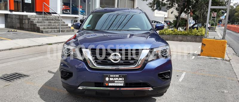 Nissan Pathfinder Sense usado (2017) color Azul precio $347,000