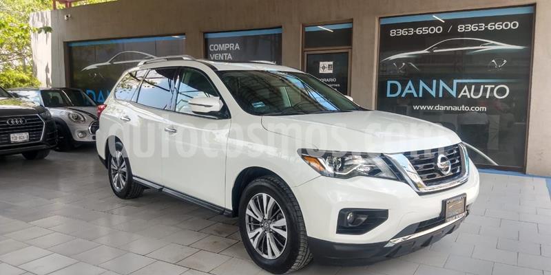 Nissan Pathfinder Advance usado (2017) color Blanco precio $379,000