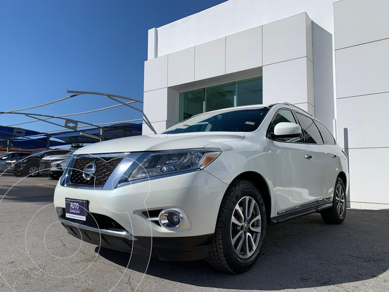Nissan Pathfinder Advance usado (2016) color Blanco precio $360,000