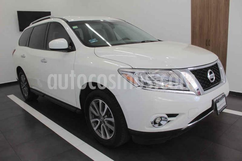 Foto Nissan Pathfinder Sense usado (2015) color Blanco precio $249,000