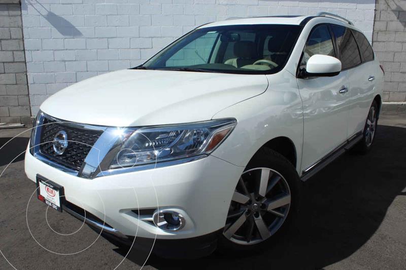 Nissan Pathfinder Exclusive 4x4 usado (2015) color Blanco precio $315,000