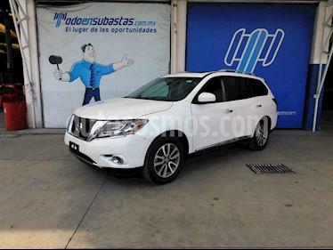 Nissan Pathfinder Advance usado (2014) color Blanco precio $157,000