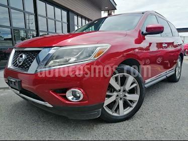 Nissan Pathfinder Exclusive usado (2016) color Rojo precio $315,000