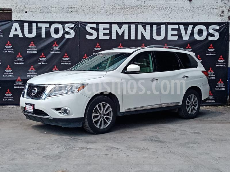 Nissan Pathfinder Advance usado (2014) color Blanco precio $240,000