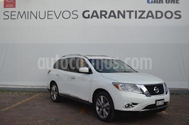 Foto Nissan Pathfinder Advance usado (2014) color Blanco precio $234,900