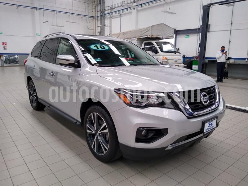 Nissan Pathfinder Exclusive usado (2018) color Plata precio $535,000