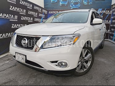 Nissan Pathfinder Exclusive usado (2014) color Blanco precio $245,000