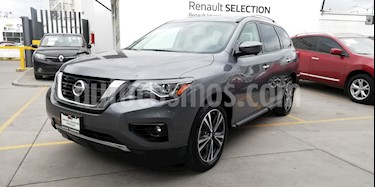Nissan Pathfinder Exclusive usado (2018) color Gris Oxford precio $532,000