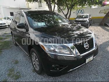 Nissan Pathfinder Sense usado (2015) color Negro precio $251,000