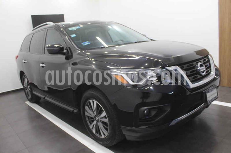 Nissan Pathfinder Sense usado (2017) color Negro precio $365,000