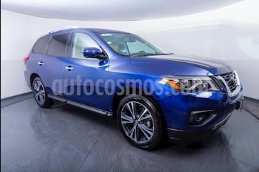 Nissan Pathfinder Exclusive usado (2018) color Azul precio $459,000