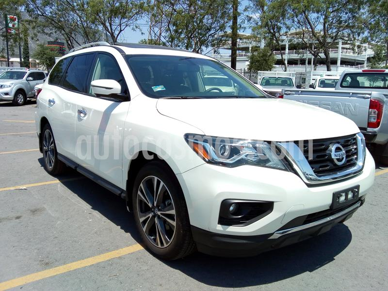 Nissan Pathfinder Exclusive usado (2019) color Blanco precio $681,328