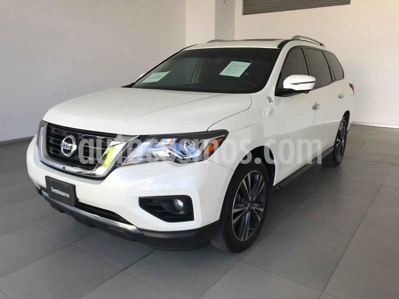 Nissan Pathfinder Exclusive 4x4 usado (2018) color Blanco precio $480,000