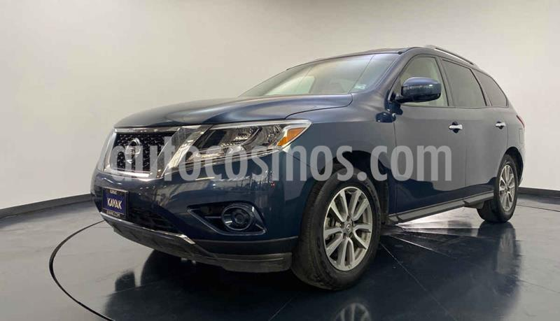Nissan Pathfinder Sense usado (2014) color Azul precio $249,999