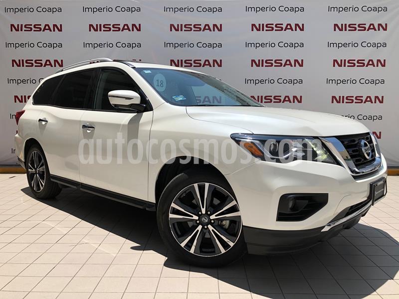 Nissan Pathfinder Exclusive usado (2018) color Blanco precio $660,000
