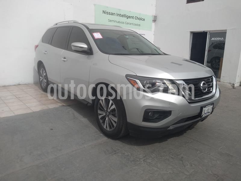 Nissan Pathfinder Advance usado (2017) color Plata precio $379,000