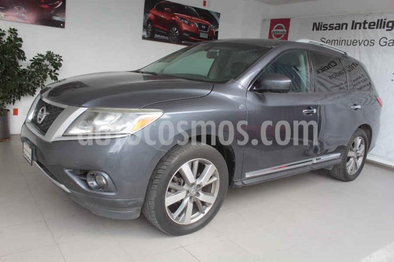 Nissan Pathfinder Exclusive usado (2013) color Gris precio $235,000